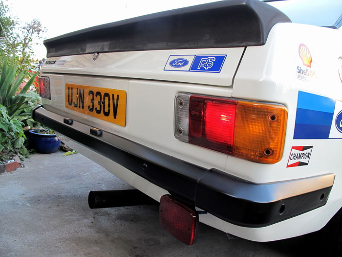 1979 Ford Escort Mk2 RS2000 Rear Lights
