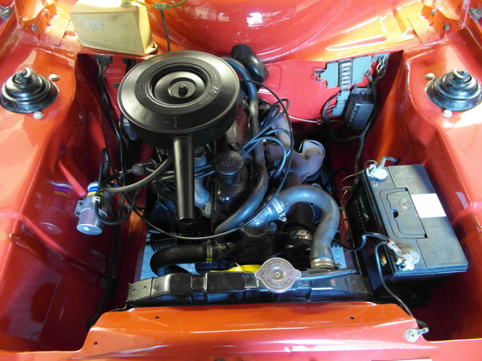 1968 Ford Escort MK1 1100 Super Engine Bay