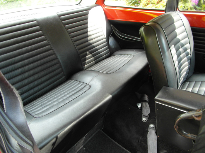 1968 Ford Escort MK1 1100 Super Rear Interior