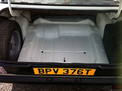 1978 Ford Escort MK2 Boot Floor