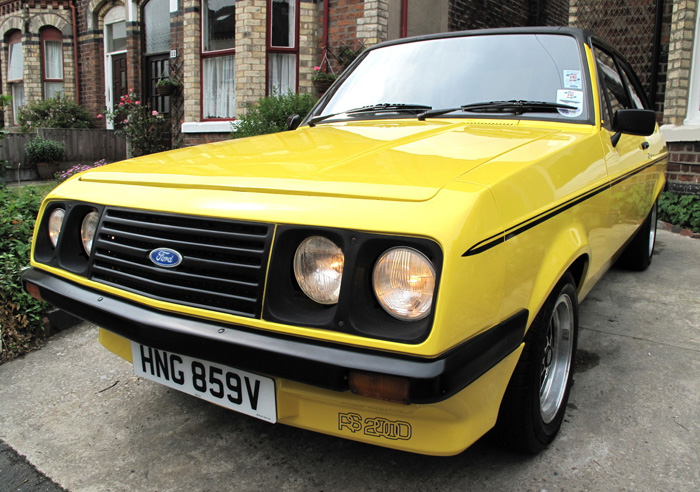 1979 Ford Escort MK2 RS2000 Custom Droop Snoot 1