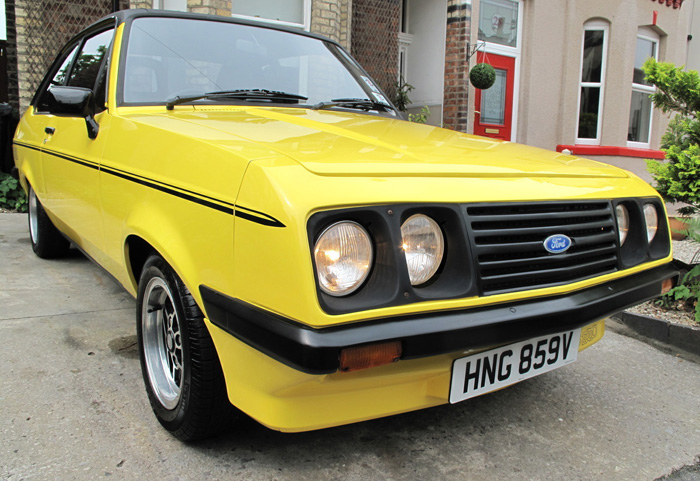 1979 Ford Escort MK2 RS2000 Custom Droop Snoot 2