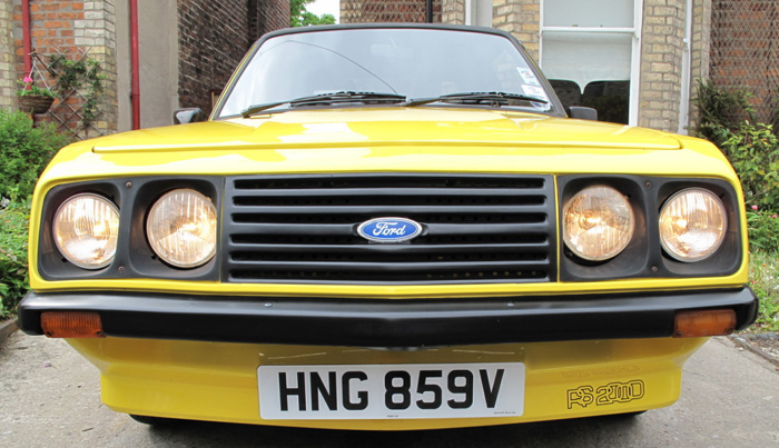 1979 Ford Escort MK2 RS2000 Custom Droop Snoot Front