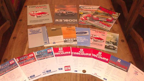 1983 Ford Escort MK3 RS1600i History