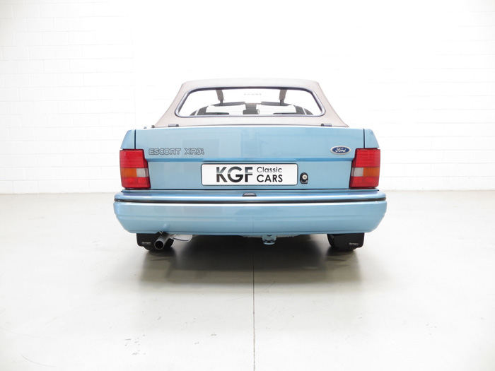 1989 Ford Escort MK3 XR3i Cabriolet Special Edition Back