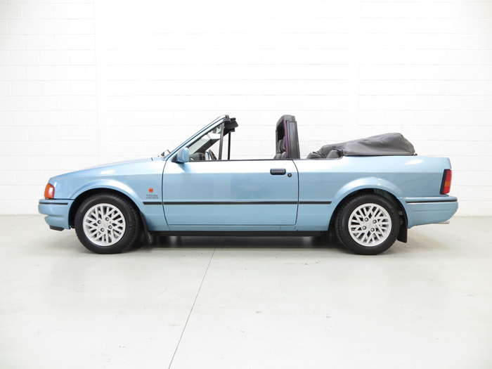 1989 Ford Escort MK3 XR3i Cabriolet Special Edition Left Side