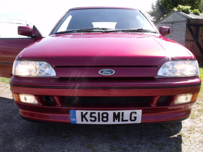 1993 Ford Escort XR3i Convertible Front