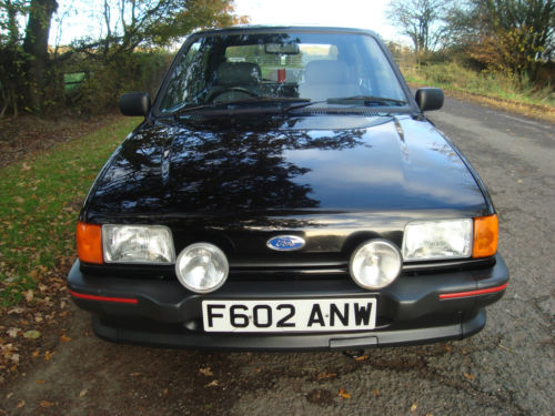 1988 Ford Fiesta MK2 1.6 XR2 Front