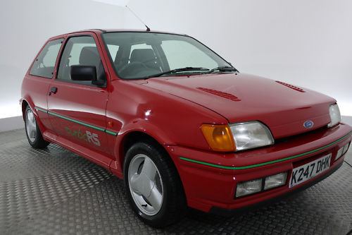1992 ford fiesta rs turbo 1