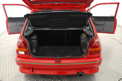 1992 ford fiesta rs turbo boot