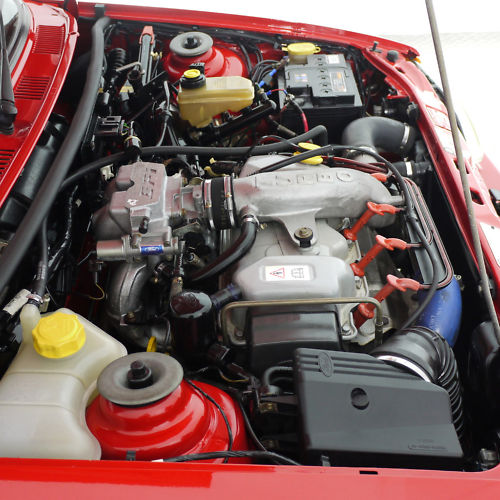 1992 ford fiesta rs turbo engine bay