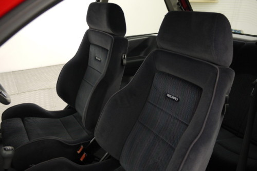 1992 ford fiesta rs turbo seats