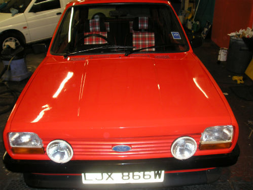 1981 ford fiesta mk1 supersport front