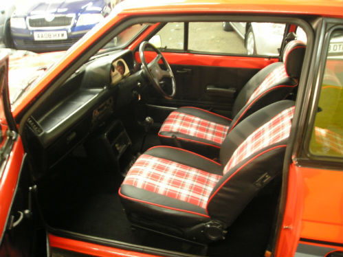 1981 ford fiesta mk1 supersport interior 1
