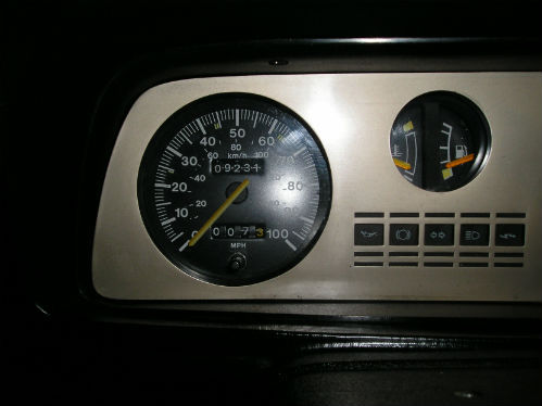1981 ford fiesta mk1 supersport speedometer