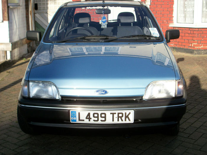 1993 ford fiesta 1.1i festival front