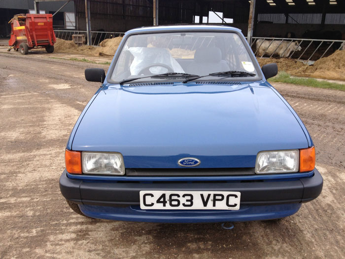1986 Ford Fiesta Mk2 1.1 Popular Plus Front