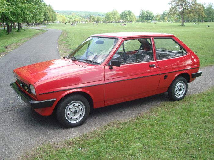 1983 Ford Fiesta Mk1 957cc Popular Plus 1