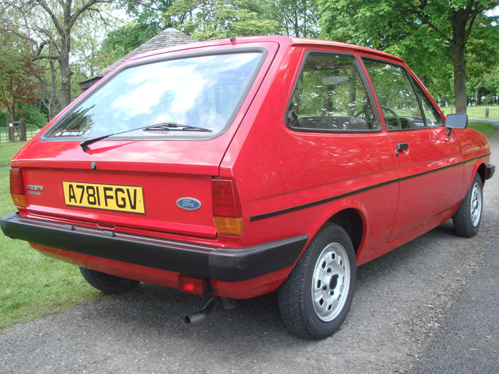 1983 Ford Fiesta Mk1 957cc Popular Plus 3