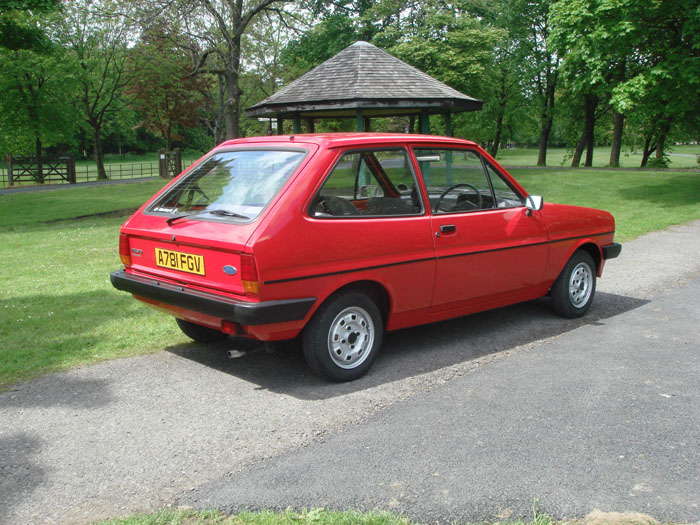 1983 Ford Fiesta Mk1 957cc Popular Plus 4