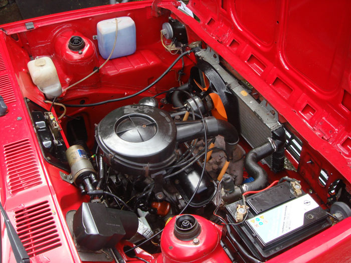 1983 Ford Fiesta Mk1 957cc Popular Plus Engine Bay