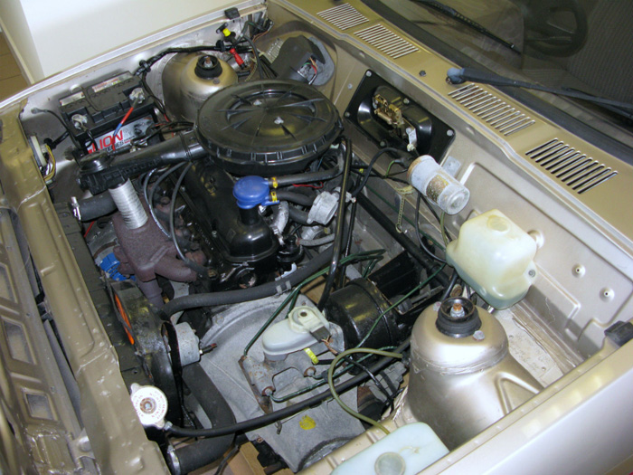 1983 Ford Fiesta MK1 1.1 Finesse Engine Bay 1