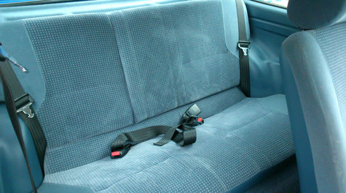 1988 Ford Fiesta MK2 1.1 Ghia Rear Seats