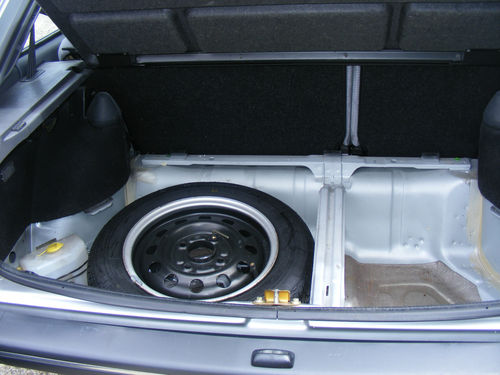 1989 Ford Fiesta MK2 1.1 Ghia Boot Floor