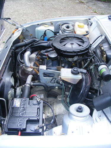 1989 Ford Fiesta MK2 1.1 Ghia Engine Bay