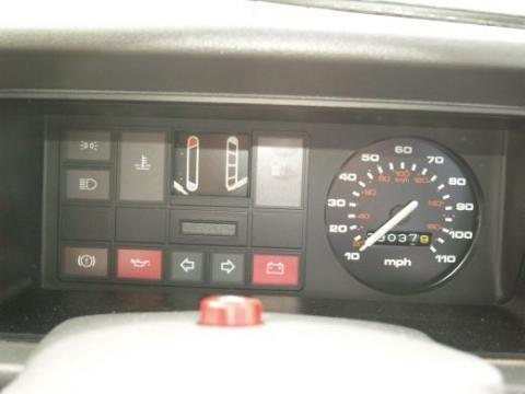 1984 Ford Fiesta MK2 957cc Popular Dashboard Gauges