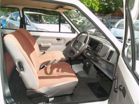 1984 Ford Fiesta MK2 957cc Popular Front Interior