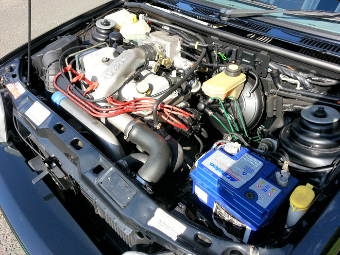1991 Ford Fiesta MK3 RS Turbo Engine Bay
