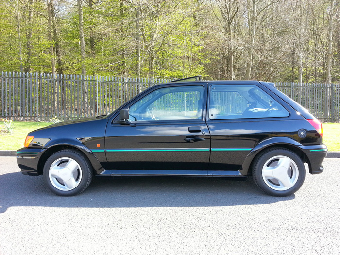 1991 Ford Fiesta MK3 RS Turbo Left Side