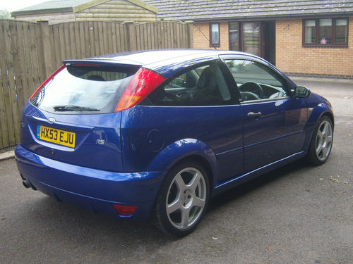 2003 Ford Focus RS MK1 3