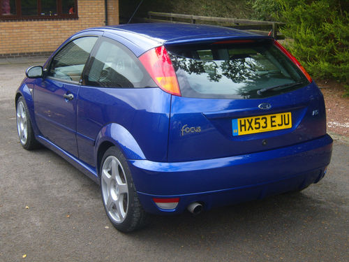 2003 Ford Focus RS MK1 4