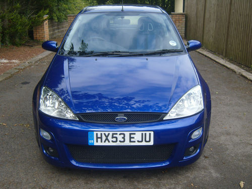 2003 Ford Focus RS MK1 Front