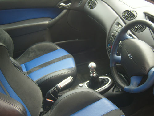 2003 Ford Focus RS MK1 Interior