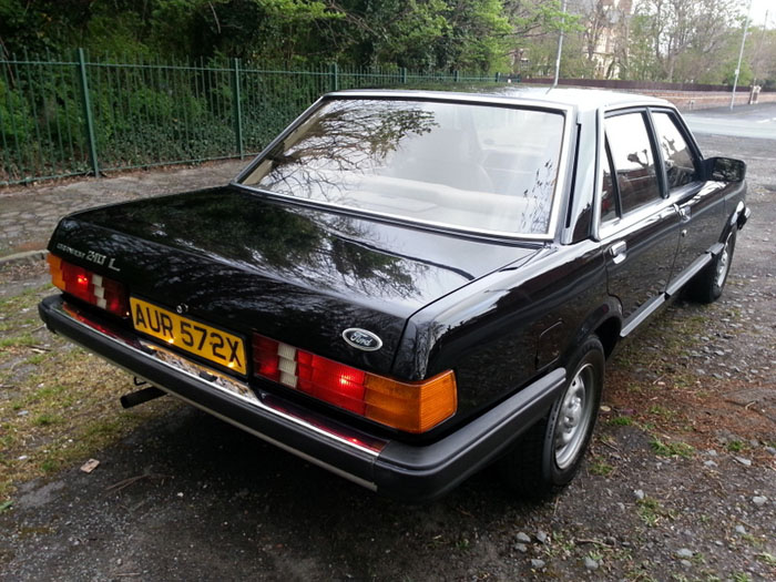 1981 Ford Granada 2.1 DL Back