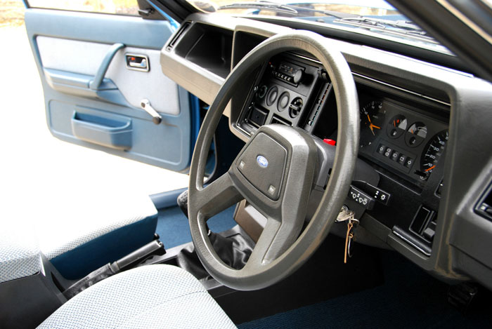 1983 Ford Granada Mk2 2.0L Interior Dashboard