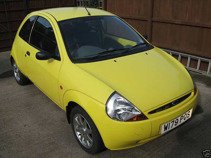 Ford Ka Millenium Yellow