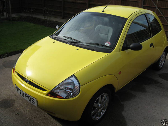 Ford Ka Millenium Yellow