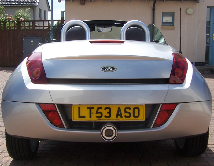 2003 Ford Street Ka Convertible Back