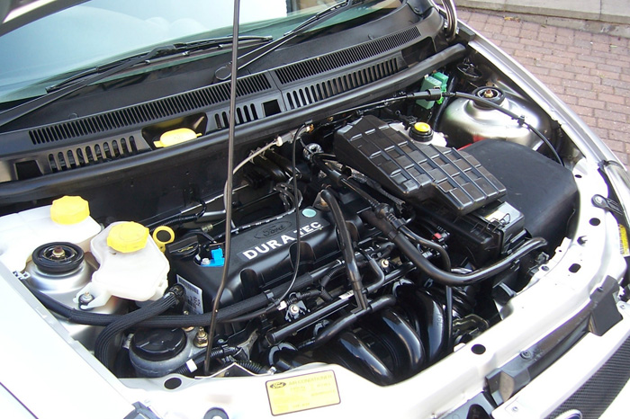 2003 Ford Street Ka Convertible Engine Bay