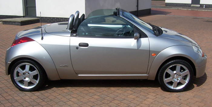 2003 Ford Street Ka Convertible Right Side