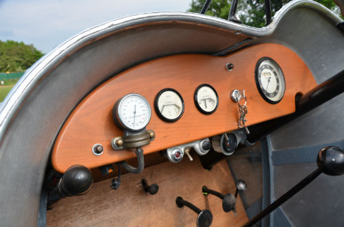 1929 Ford Model A 3.3L Special Racer Dashboard