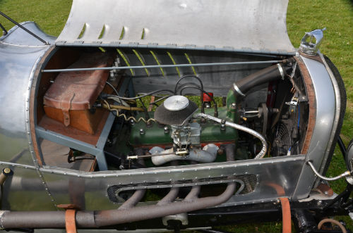 1929 Ford Model A 3.3L Special Racer Engine Bay 1