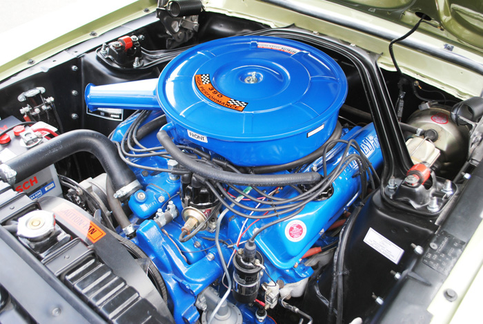 1967 Ford Mustang Fastback GT Engine Bay