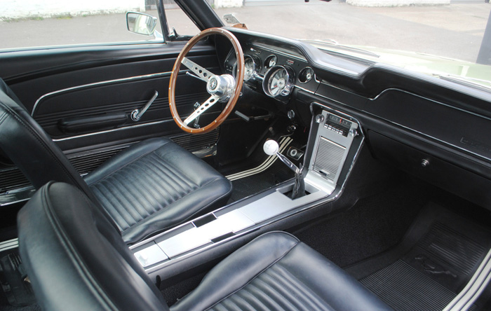 1967 Ford Mustang Fastback GT Interior