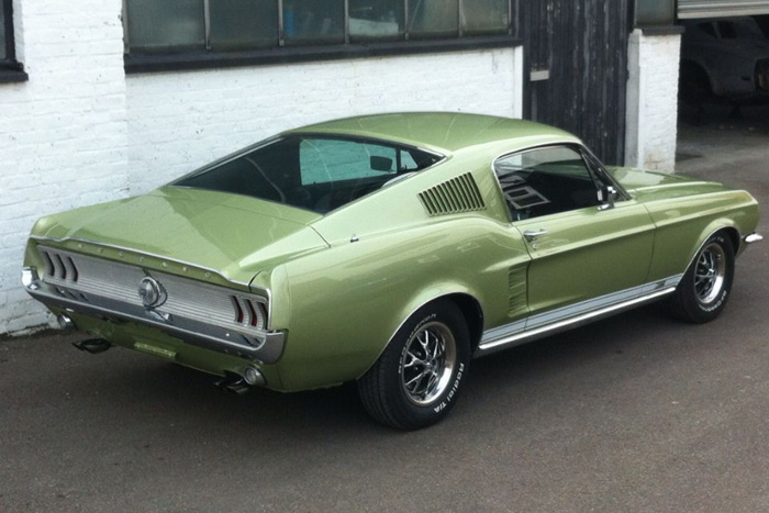 1967 Ford Mustang Fastback GT Rear
