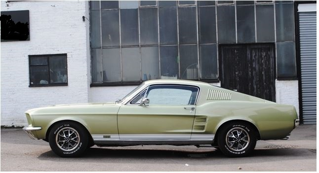 1967 Ford Mustang Fastback GT Side